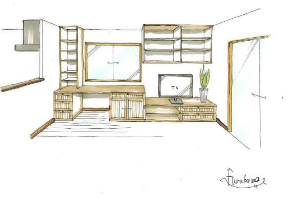 サイズや色、素材など、いくつかの要素を組み合わせて、お部屋のインテリアや雰囲気に合わせて、デザイナーが設計・コーディネートしますので、遠慮なくご要望をお聞かせください。